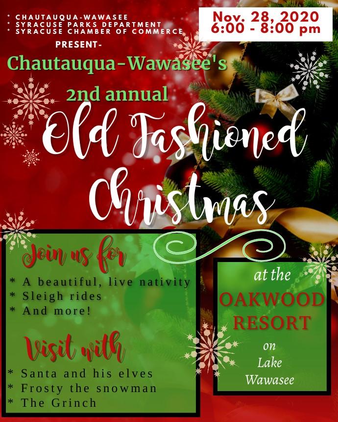 2nd Annual Old Fashioned Christmas at Oakwood   Oakwood Resort